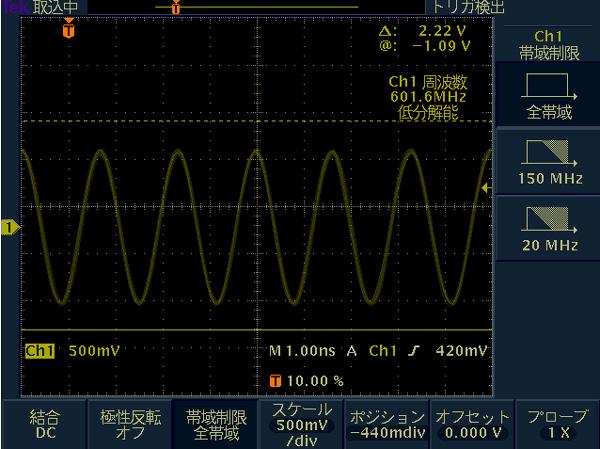 テクトロTDS3000の帯域を拡張する