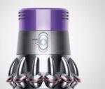 ダイソン掃除機の吸い込み仕事率と電力利用効率